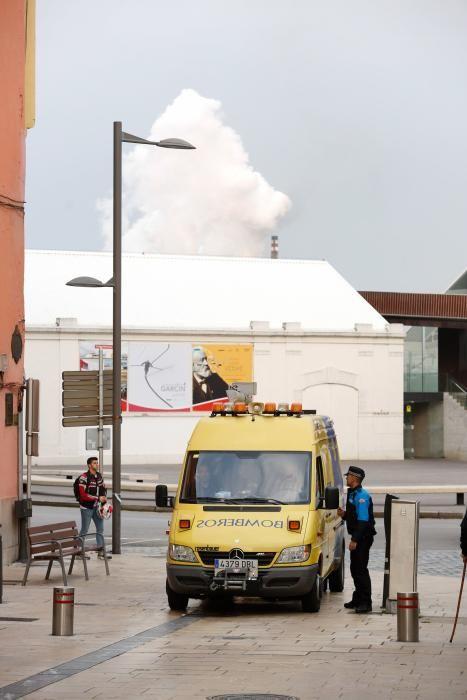 Escape tóxico en Avilés