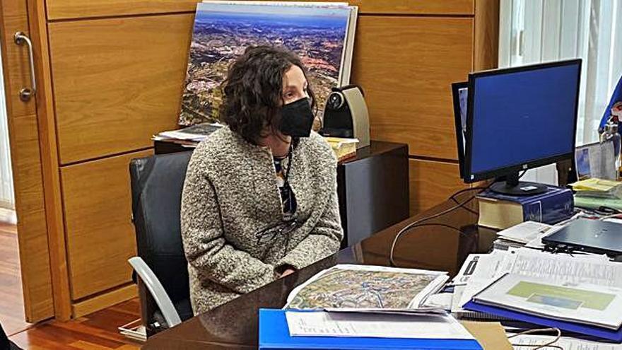 Recepción del Alcalde al nuevo director de Ikea Asturias, Eduardo Díaz