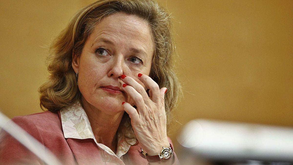 Nadia Calviño, vicepresidenta tercera del Gobierno y ministra de Asuntos Económicos.