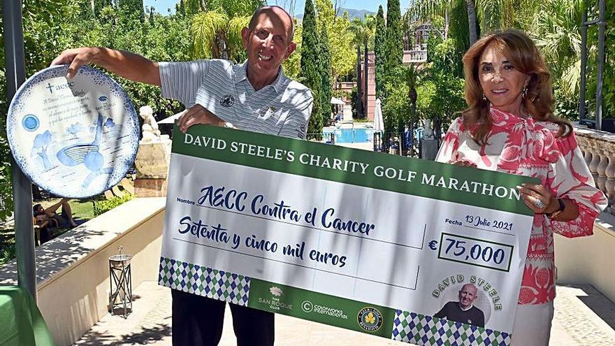 La AECC organiza un circuito de golf en sustitución de la cena de gala