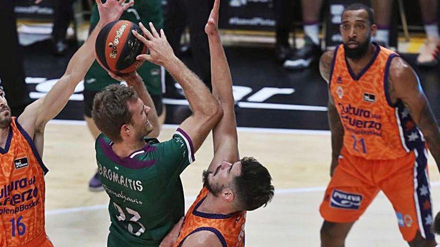 Horario y dónde ver el Unicaja - Valencia Basket