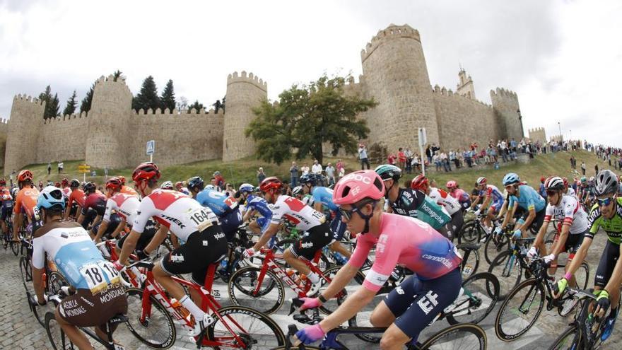 Polémica por supuesta ayuda a Roglic tras su caída en una etapa que gana Cavagna