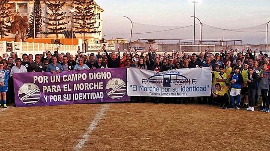 Torrox mantiene la ubicación  del campo de fútbol de El Morche