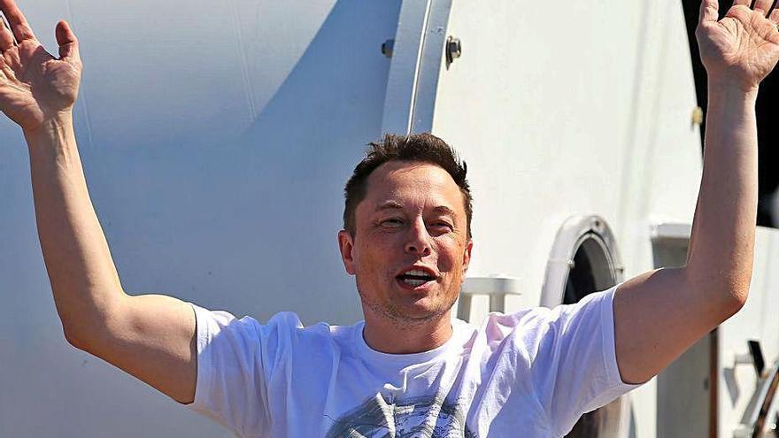 El multimillonario Elon Musk y su odisea espacial protagonizarán una serie