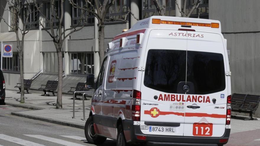 Muere un conductor en Oviedo tras sufrir un paro cardiaco al comprobar los daños provocados en su coche por un jabalí