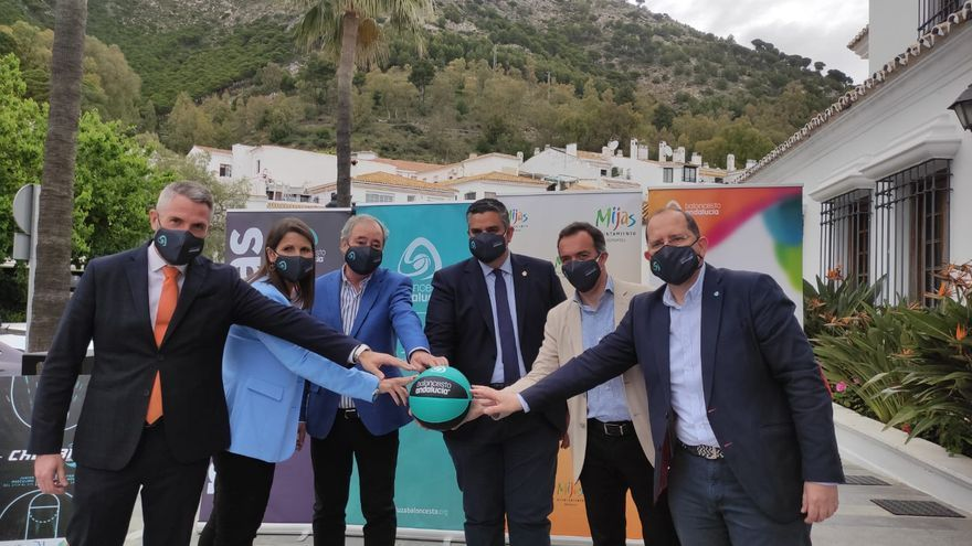 Mijas presenta los Campeonatos de Andalucía de Baloncesto Júnior masculino e Infantil femenino
