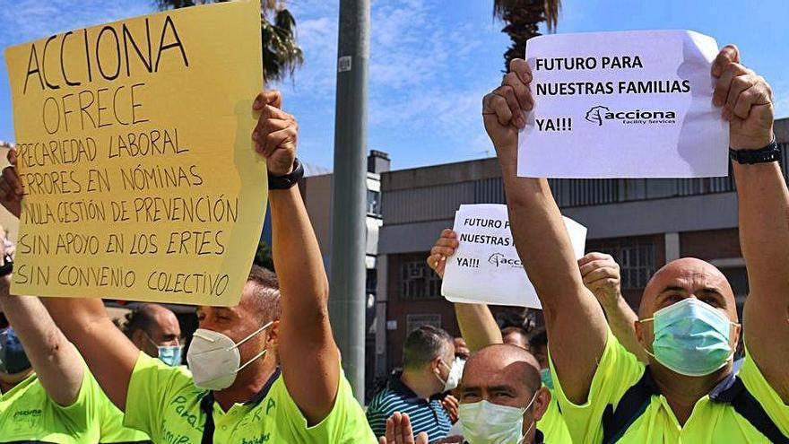 El comitè d'Acciona registrarà una vaga indefinida la setmana que ve