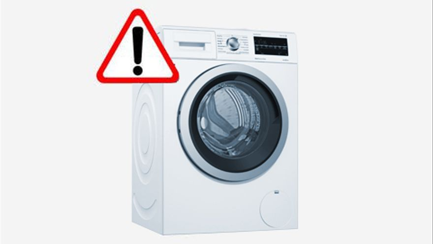 Lavadoras defectuosas con riesgo potencial de causar lesiones