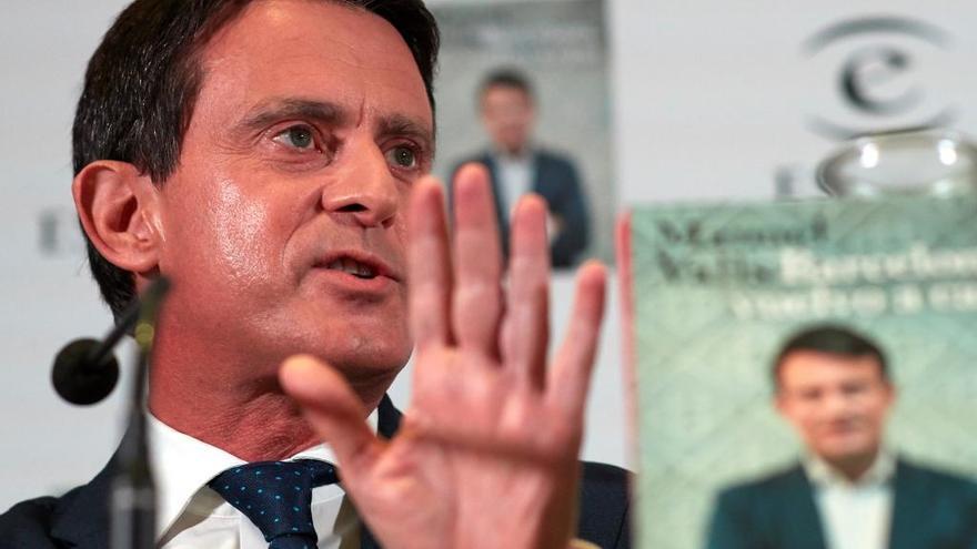 """Valls: """"Ser republicano no es oponerse a la monarquía"""""""
