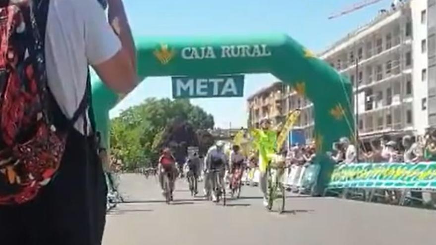 Miguel Angel Fernández, ganador del Trofeo Ayuntamiento de Zamora