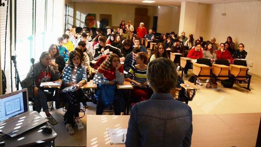 Conferencias sobre búsqueda de empleo para los alumnos del Alfonso X O Sabio