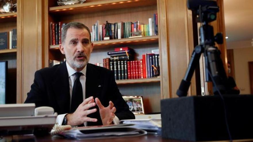 El Rey llama a la unidad para la recuperación de España