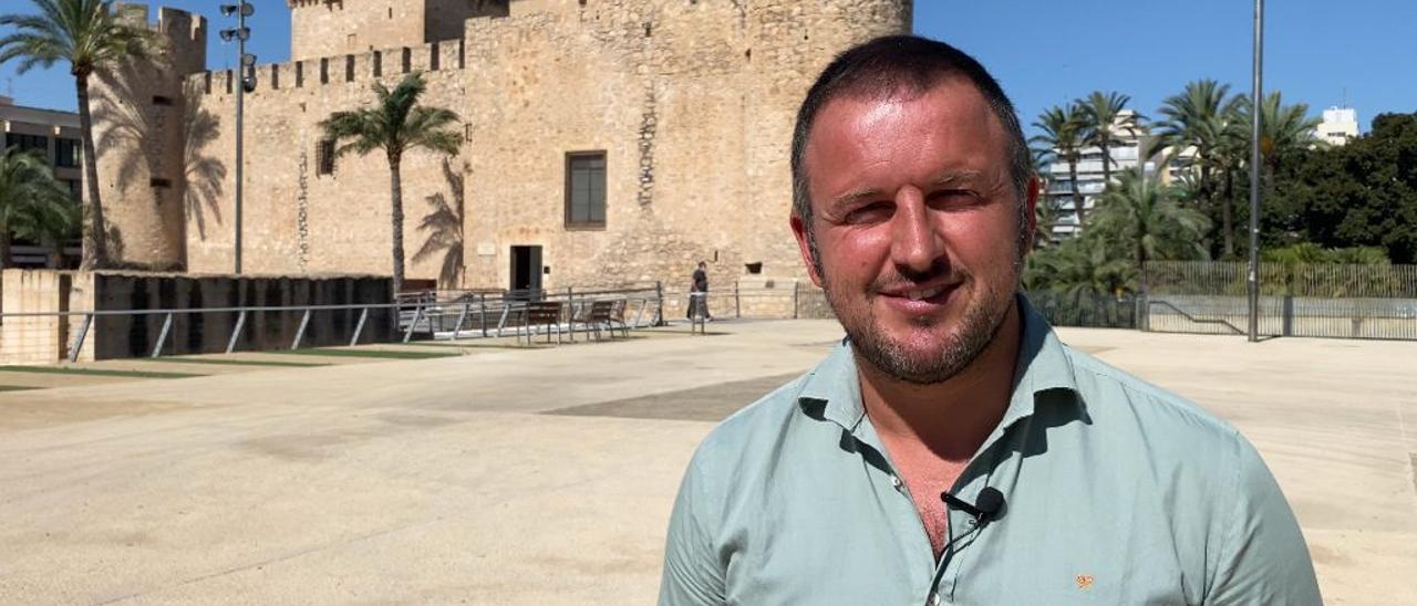 Pablo Ruz, portavoz del PP en Elche