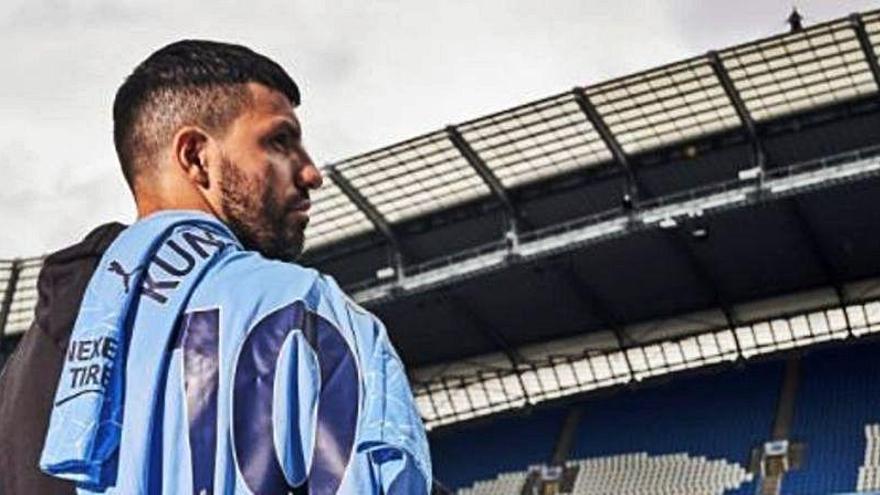 Agüero pasa revisión médica antes de firmar por el Barça