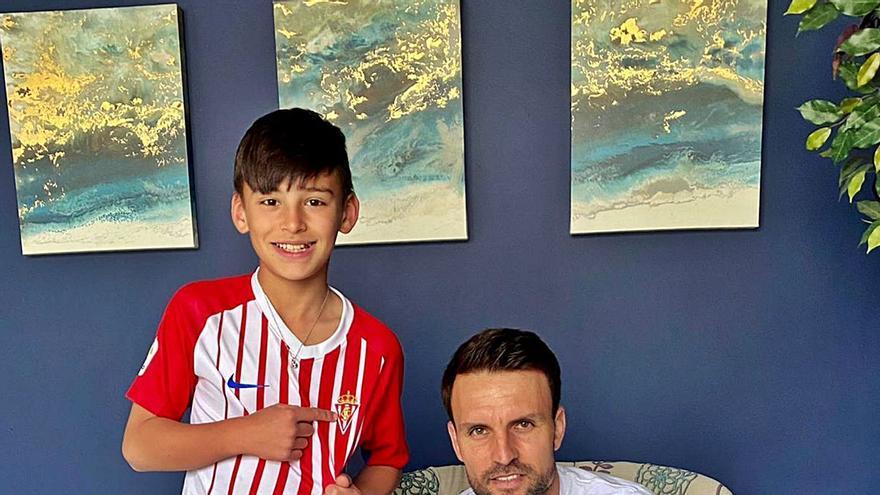 La historia del exjugador del Sporting Ayoze y su hijo: los García juegan en Indiana
