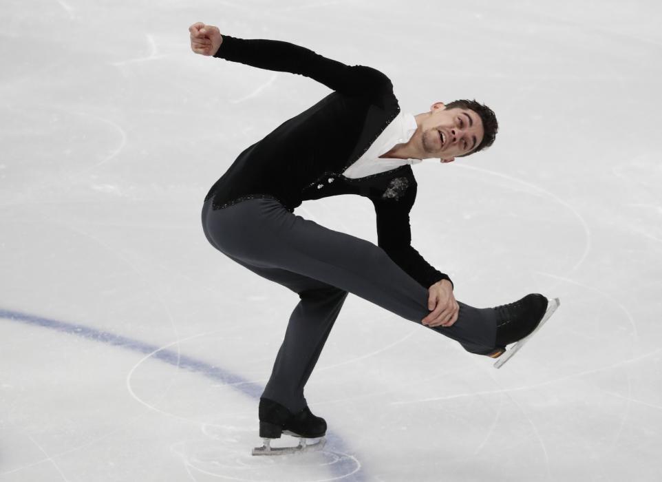 Javier Fernández, campeón de Europa de patinaje
