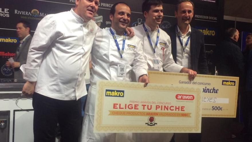 Un joven chef murciano, ganador en Madrid Fusión