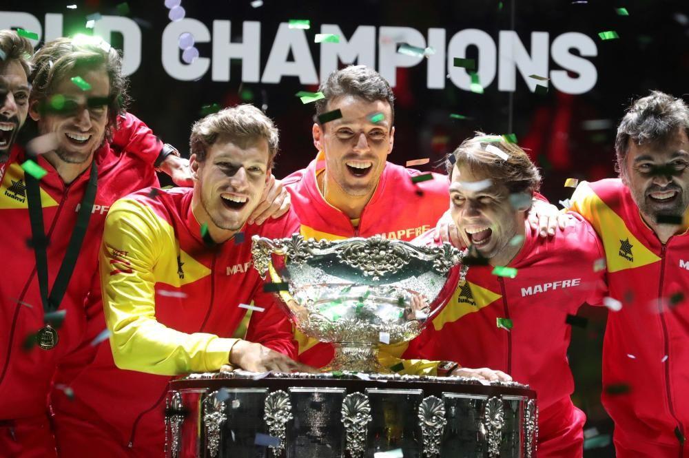 España conquista la Davis