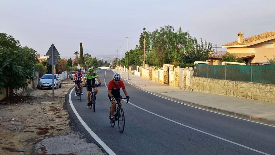 Busot exige al Consell una rotonda y un carril bici en la CV-773 ante su elevada peligrosidad