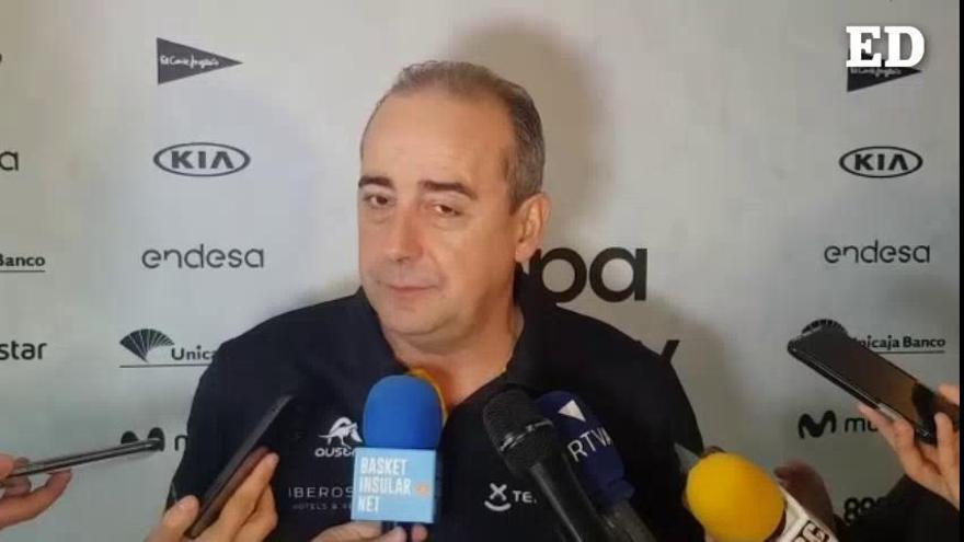 """Txus Vidorreta: """"Queremos continuar la buena racha"""""""