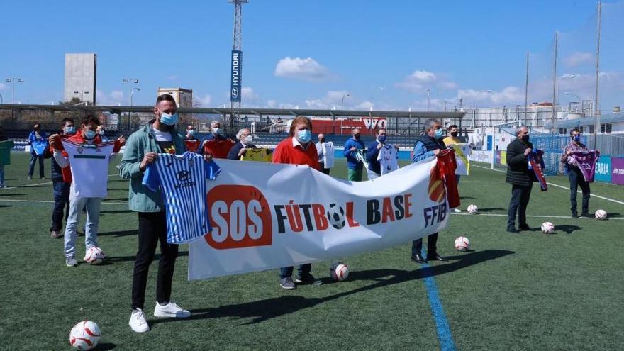 El fútbol balear se reivindica a favor de los más pequeños.