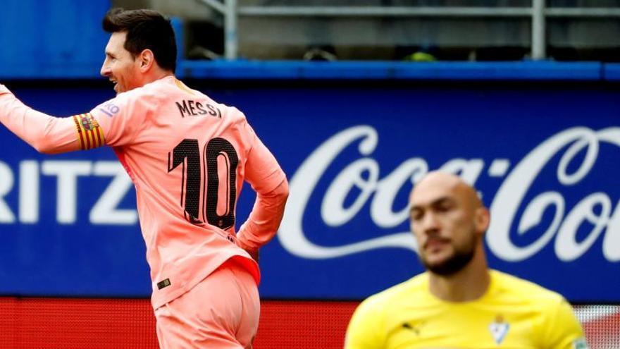 Messi, Pichichi por sexta vez, alcanza a Zarra