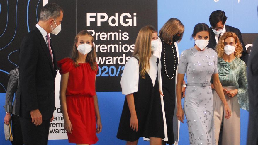 La Familia Real al completo vuelve a Barcelona para la entrega de los Premios Princesa de Girona