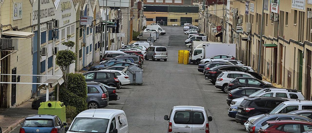 Una imagen del polígono industrial de Carrús, en Elche. | MATÍAS SEGARRA