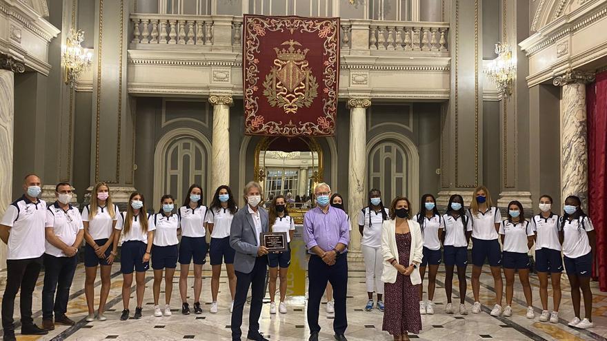 El Valencia CA ofrece el título de campeón de España femenino sub'20 al ayuntamiento
