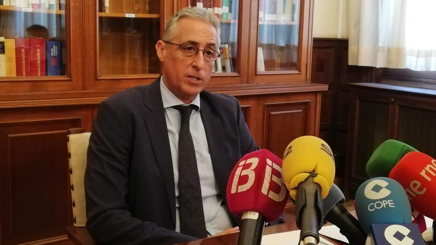 """Gómez-Reino destaca frente al CGPJ la celebración de juicios en Baleares en un """"único espacio virtual"""""""