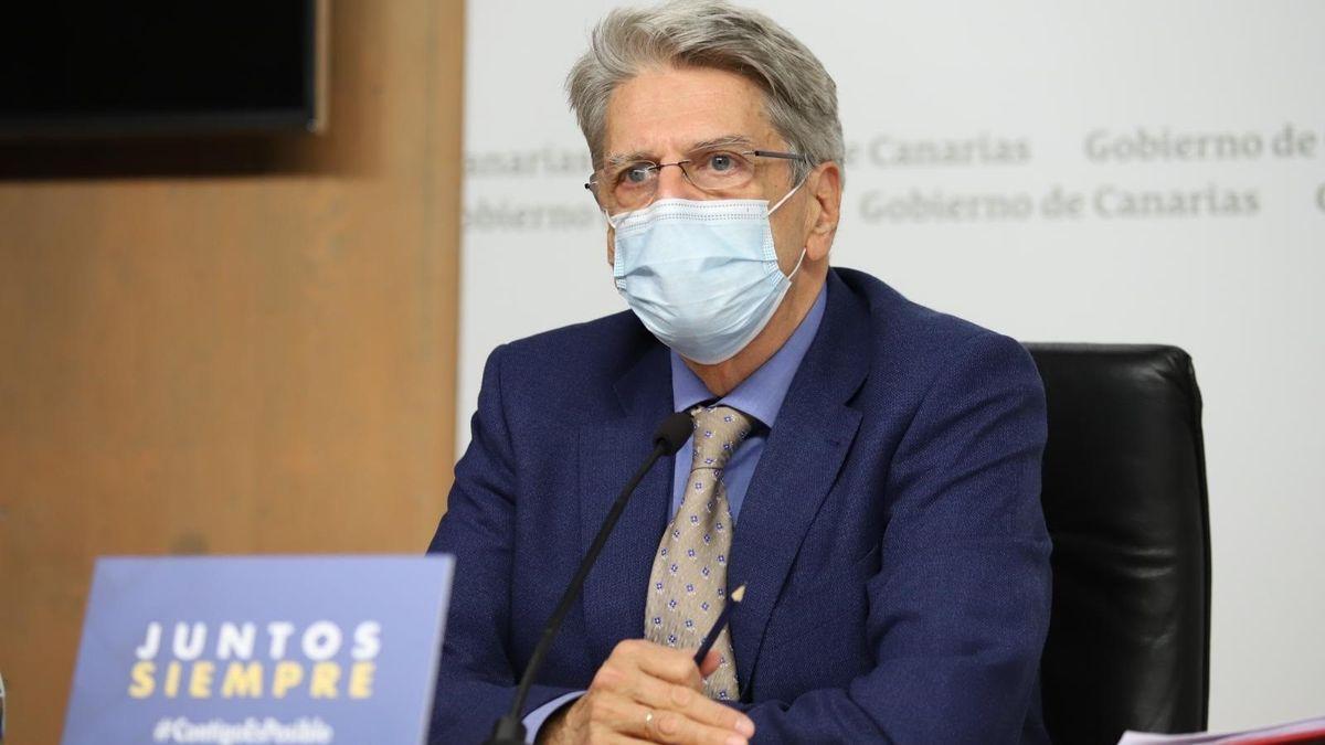 Julio Pérez portavoz de Gobierno de Canarias.