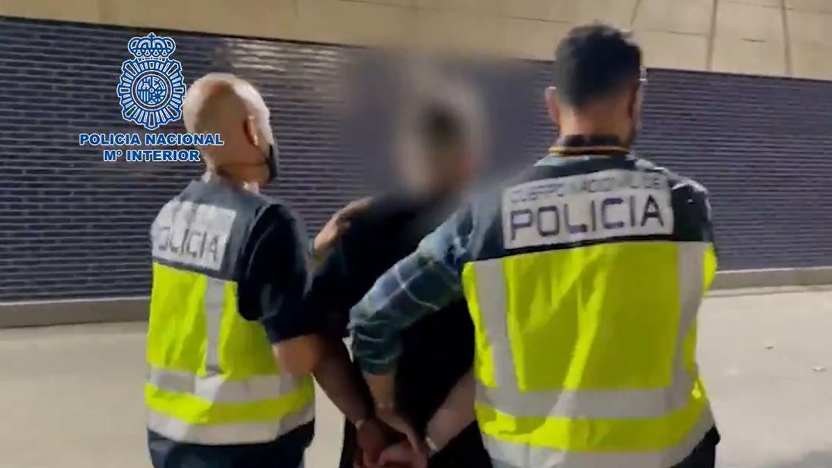 El fugitivo estaba reclamado por las autoridades italianas