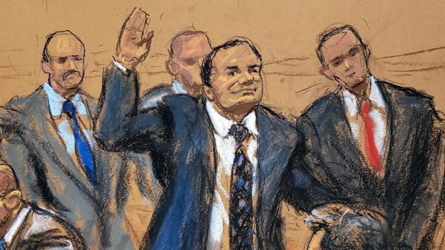 'El Chapo', declarado culpable por narcotráfico en EEUU