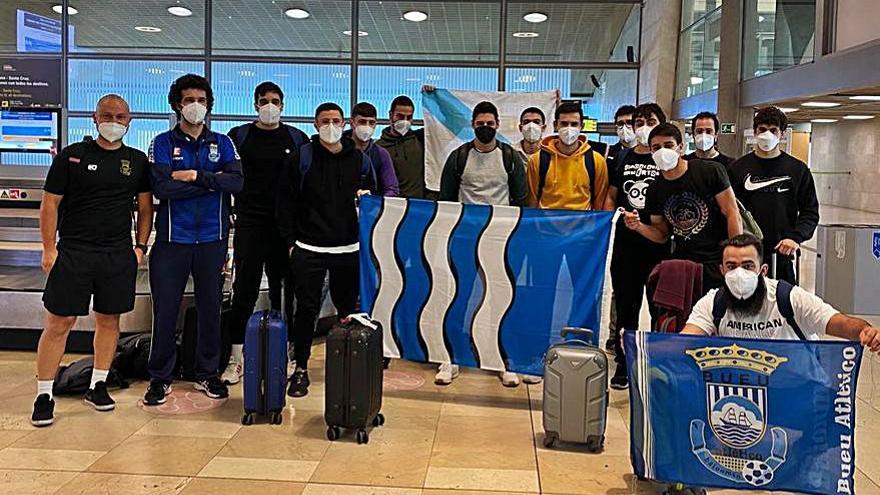 """El Bueu visita al Lanzarote en el primer partido de su """"gira"""" a Canarias"""
