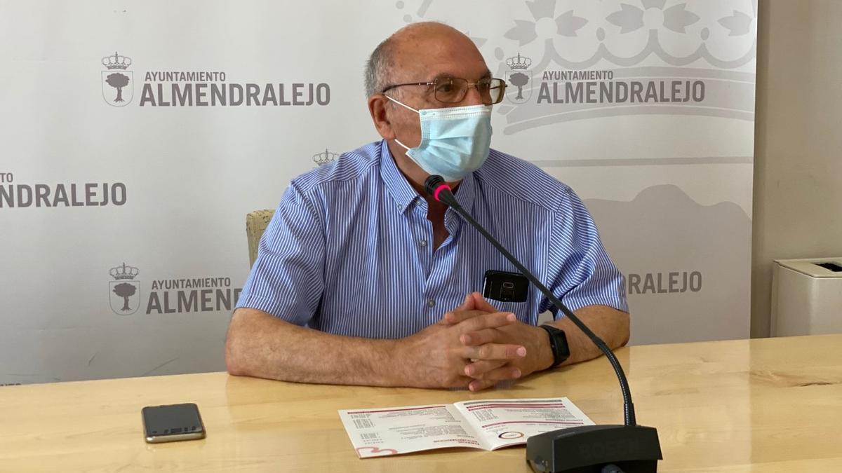 Adolfo Nieto, presidente de Cáritas Almendralejo
