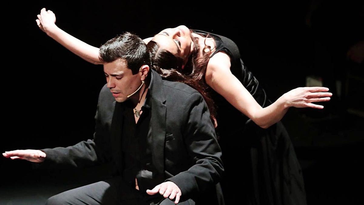 """Danza y flamenco con """"Rasa y Duende"""" en el teatro Jovellanos   MARCOS LEÓN"""