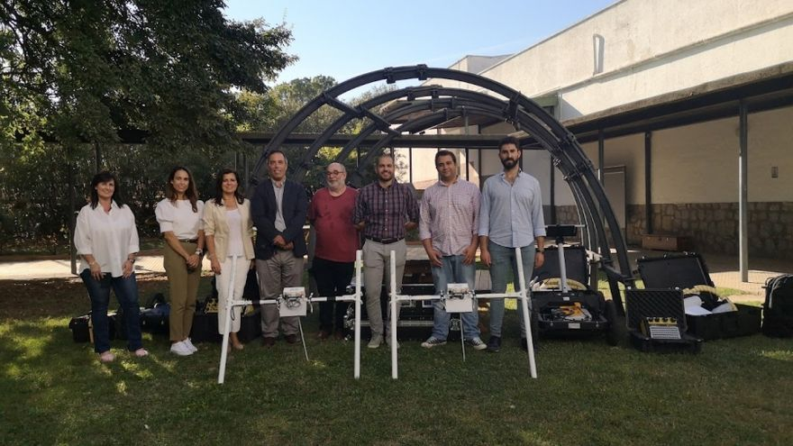 La Politécnica de Belmez acoge un equipo vanguardista de prospecciones geofísicas