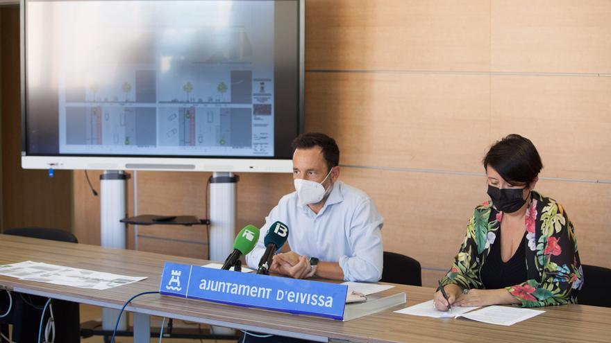 La avenida Isidor Macabich de Ibiza eliminará plazas de aparcamiento para habilitar un carril bici