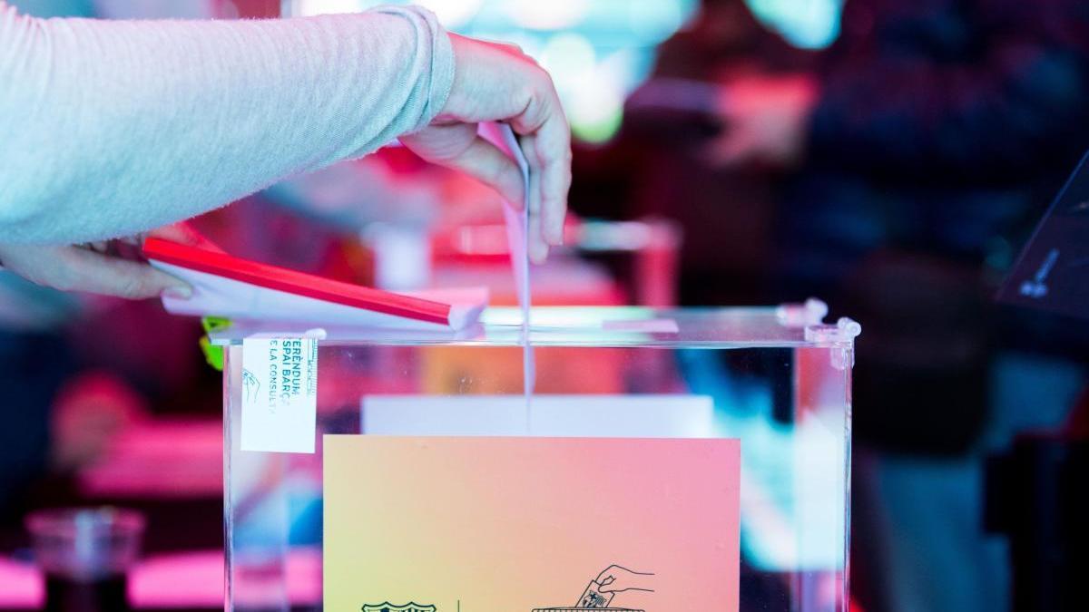 Una jornada electoral del FC Barcelona