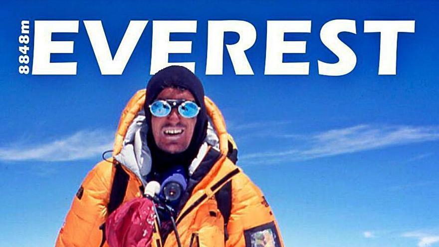 Martín Ramos conmemorará su primera subida al Everest