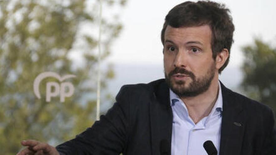 Casado qüestiona des de Figueres el «joc net» de la inauguració de l'AVE