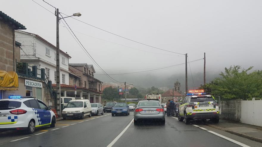 Más cerca de la eliminación de los accidentes en el tramo urbano de Domaio