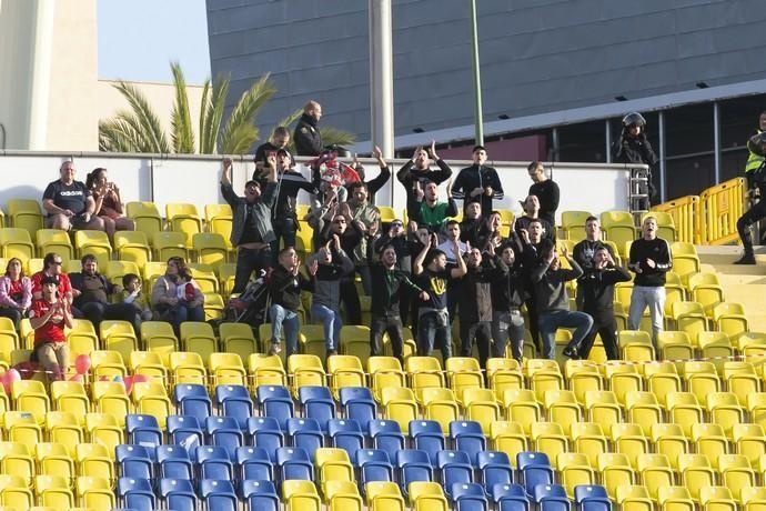 12.01.19. Las Palmas de Gran Canaria. Fútbol segunda división temporada 2018-19. UD Las Palmas-CA Osasuna. Estadio de Gran Canaria. Foto Quique Curbelo