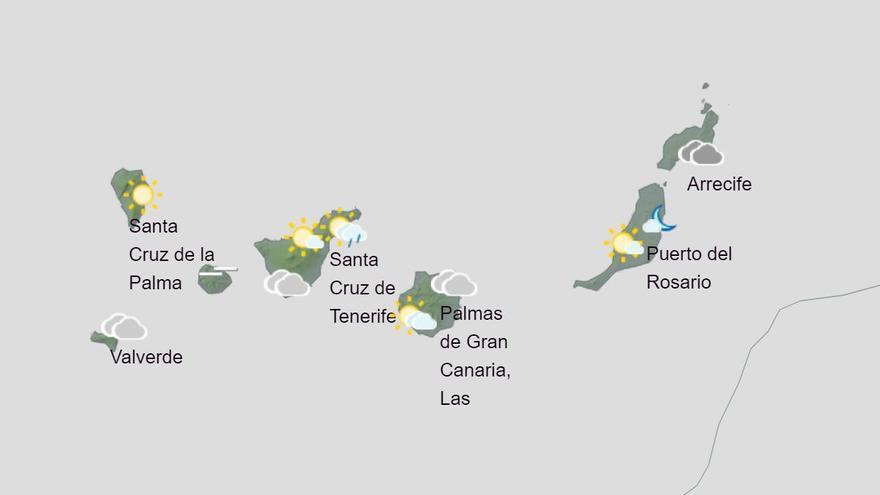 El puente de la Constitución acabará con lluvias en Canarias