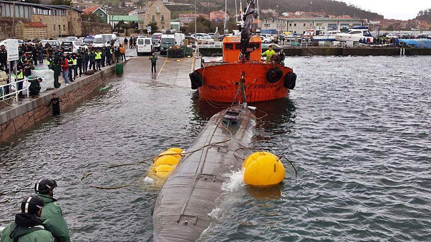 Una serie gallega recreará la travesía y el naufragio del narcosubmarino de Cangas
