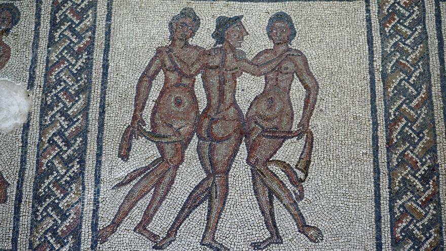 Los mosaicos romanos únicos y excepcionales de Fuente Álamo
