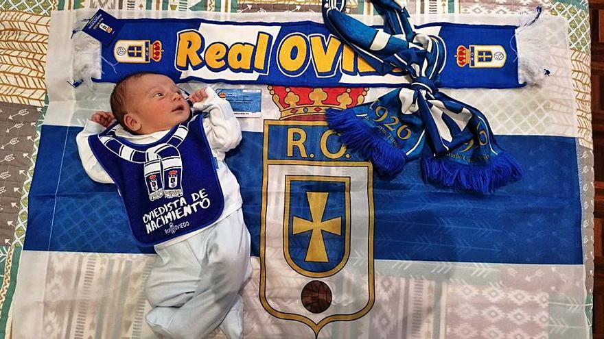 Manuel Lastra Rodríguez, socio azul desde la cuna