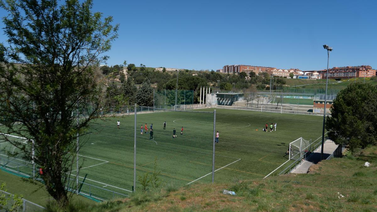 Campos de Fútbol de Valorio.