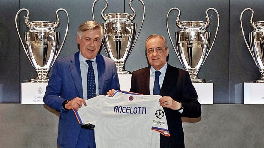 Ancelotti «Prometo el mateix, ho repetirem»