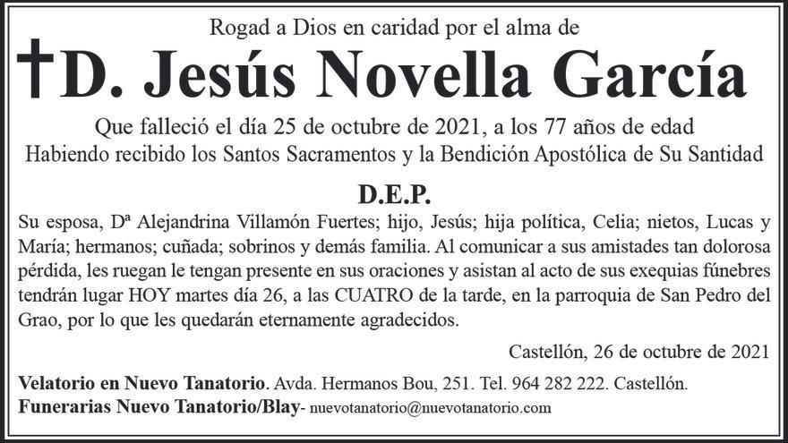 D. Jesús Novella García